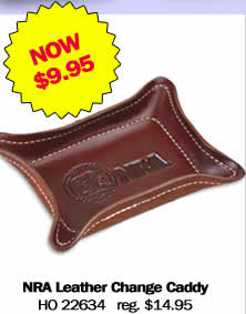 NRA Leather Change Caddy