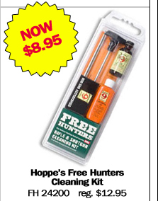 Hoppes Free Hunters Cleaning Kit