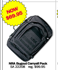 NRA Bugout Carryall Pack