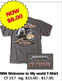 NRA Welcome to My World T-Shirt