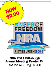 NRA 2011 Pittsburgh Annual Meeting Pewter Pin