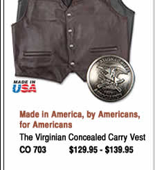 The Virginian Concealed Carry Vest