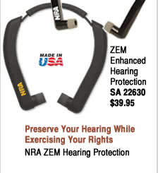 NRA ZEM Enhanced Hearing Protection