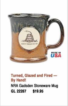 NRA Gadsden Stoneware Mug