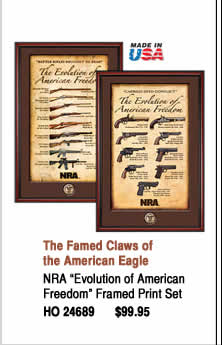 NRA Evolution of American Freedom Print Set