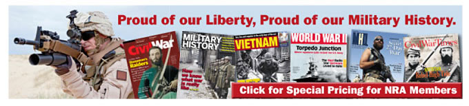 Proud of our Liberty, Proud of our Military History - click for special pricing for NRA Members