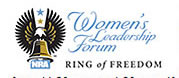 Womens Leadership Forum Ring of Freedom